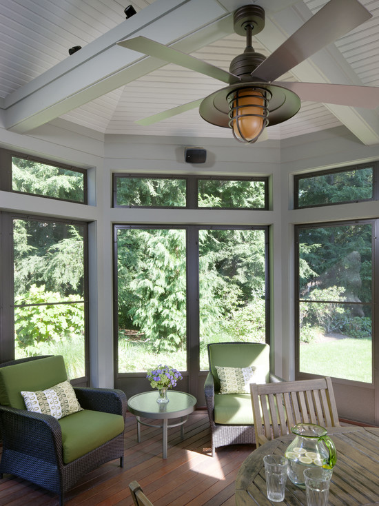 Tudor Addition Screened Porch