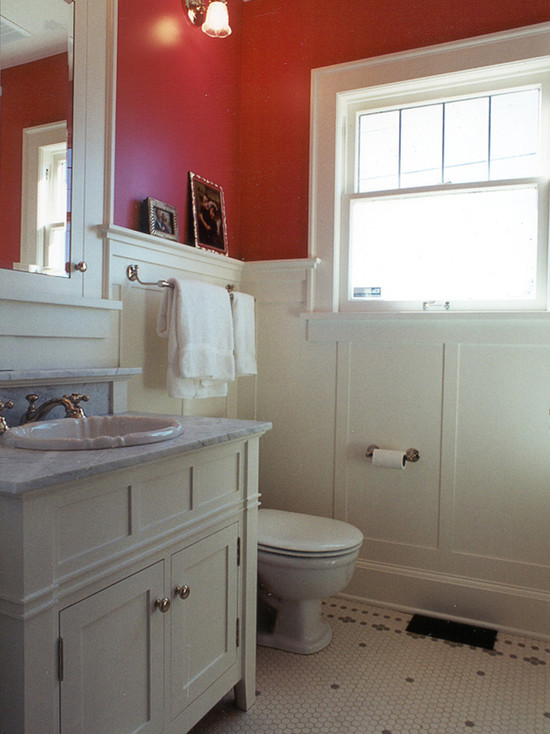 Magnolia Tudor Powder Room