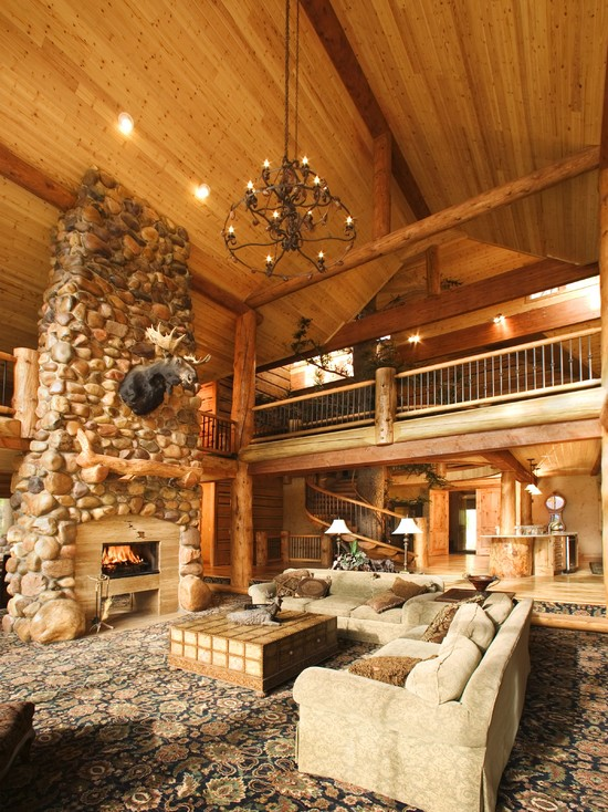Morgan Cabin Family Room