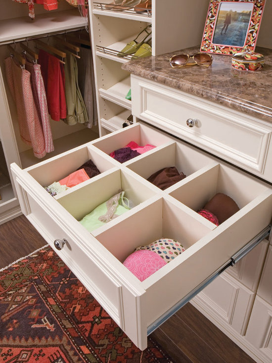 Walk In Closet Drawer With Dividers