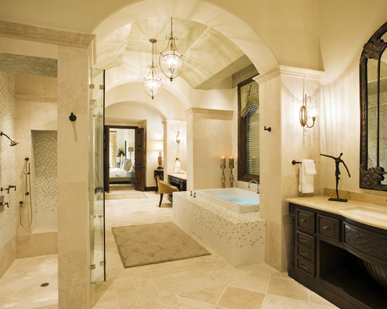 Rough Hollow Master Bath