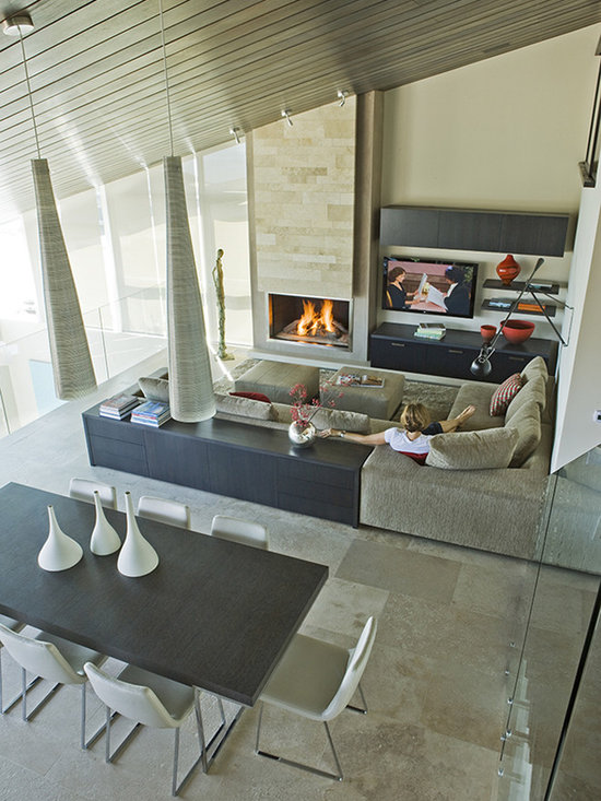 Three Arch Bay Residence Family Room