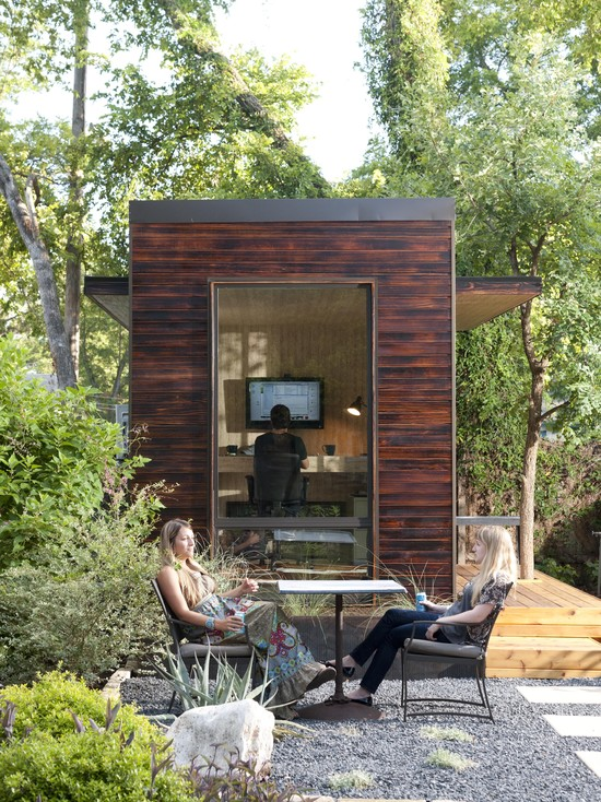 92 Square Foot Backyard Office